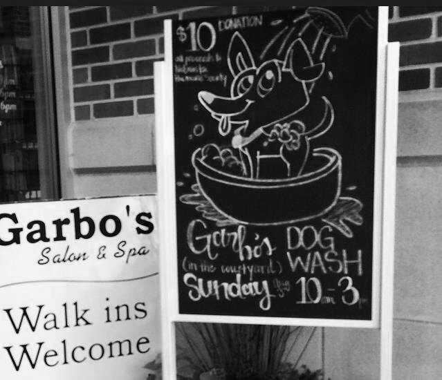 Garbo's salon dog wash