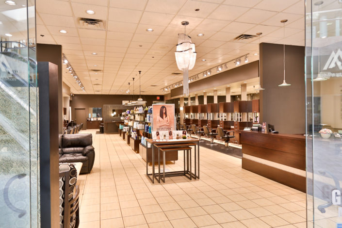 salons in oakview mall