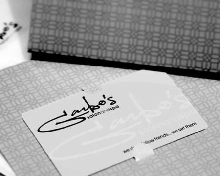 Garbo's Gift Card