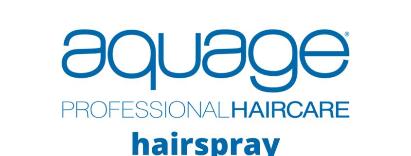 Aquage professional hairspray