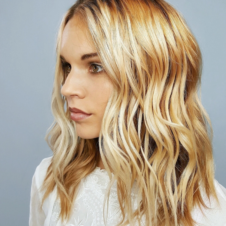 Aveda Hair Medium Cut - Blonde