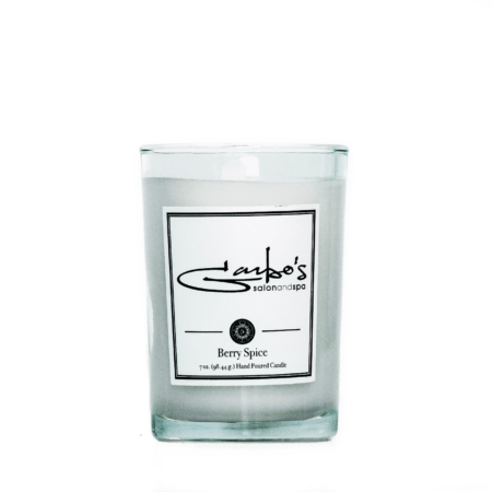 Garbos Candle in the Berry Spice Scent