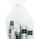 A small bag for your guest bathroom which includes all the hair products needed