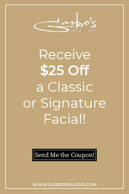 25 off facial coupon