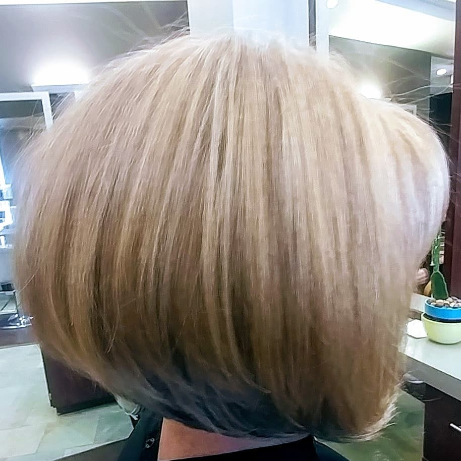 Leslie Johnson, Village Pointe, Hair Example - Women's Short Bob