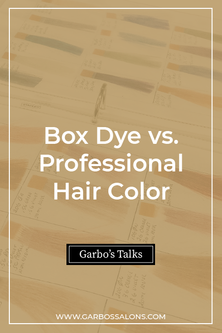 Box Dye vs. Professional Hair Color
