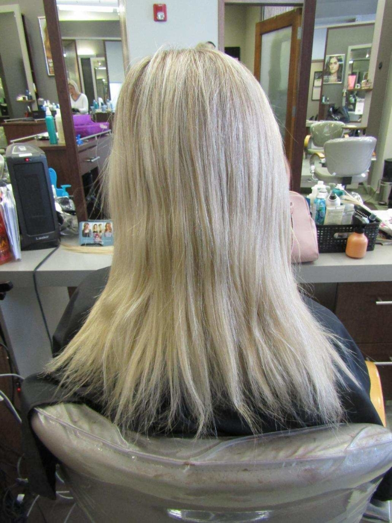 Erica Bang Omaha Hairstylist Best Hair Extensions - Before