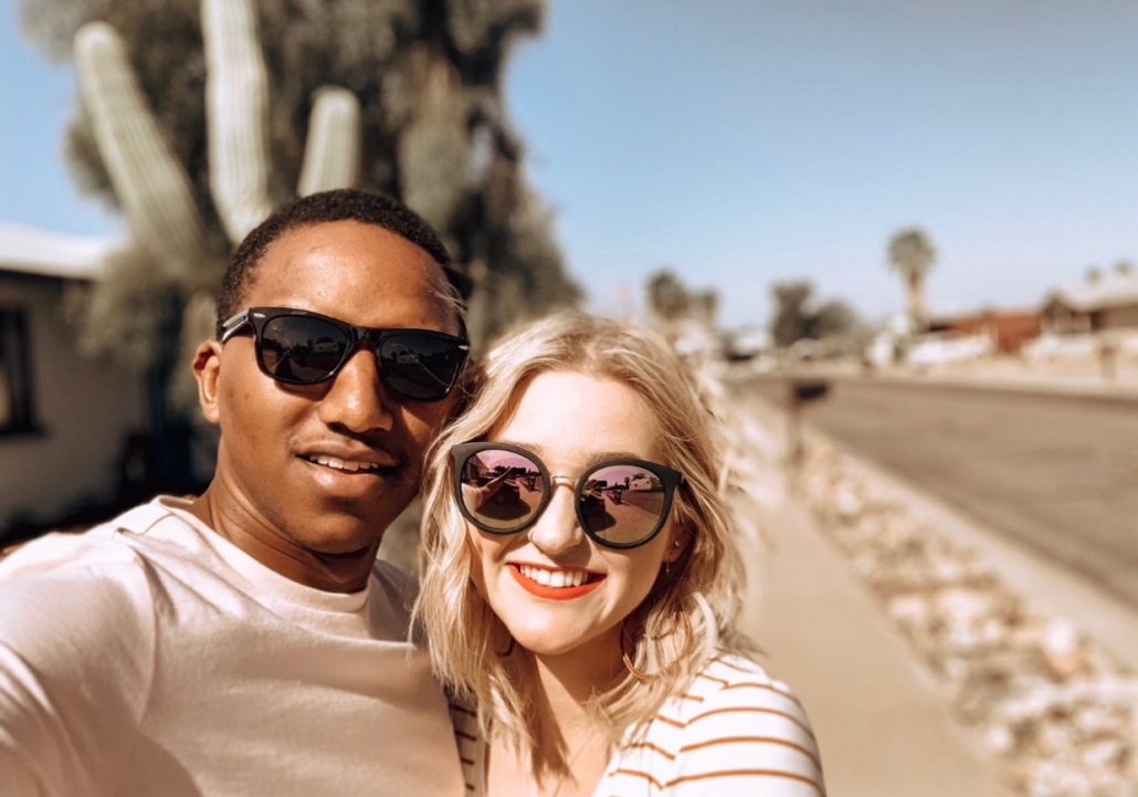 Omaha Stylist Mikaela Kellogg with Boyfriend