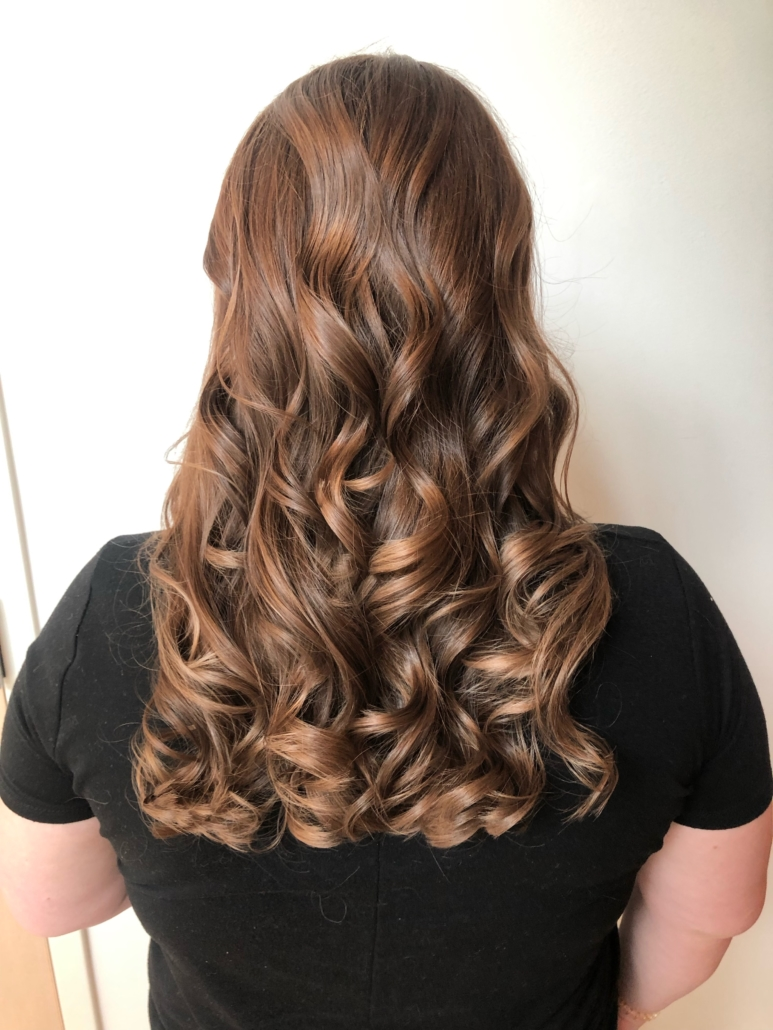 Omaha Stylist Clair Wight - Curls