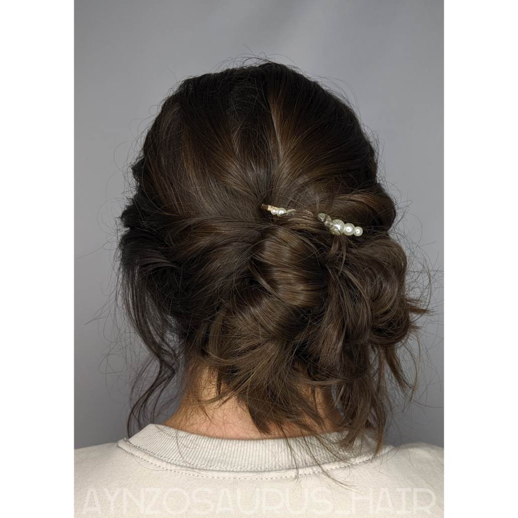 Updo by Aynsley Kalahar
