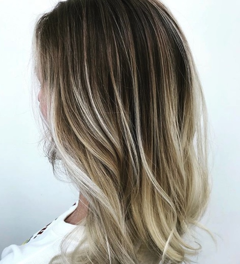 Balayaged Hair