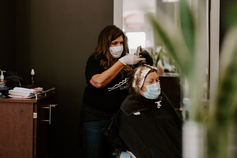 How to Treat Mascne - Stylists Wearing Masks
